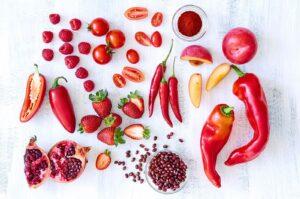 פירות וירקות אדומים שירה אזולאי מסע בריאות